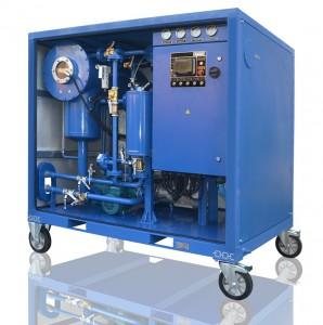 High vacuum transformer oil degassing plant CMM 1.0D (capacity 1000 LPH)