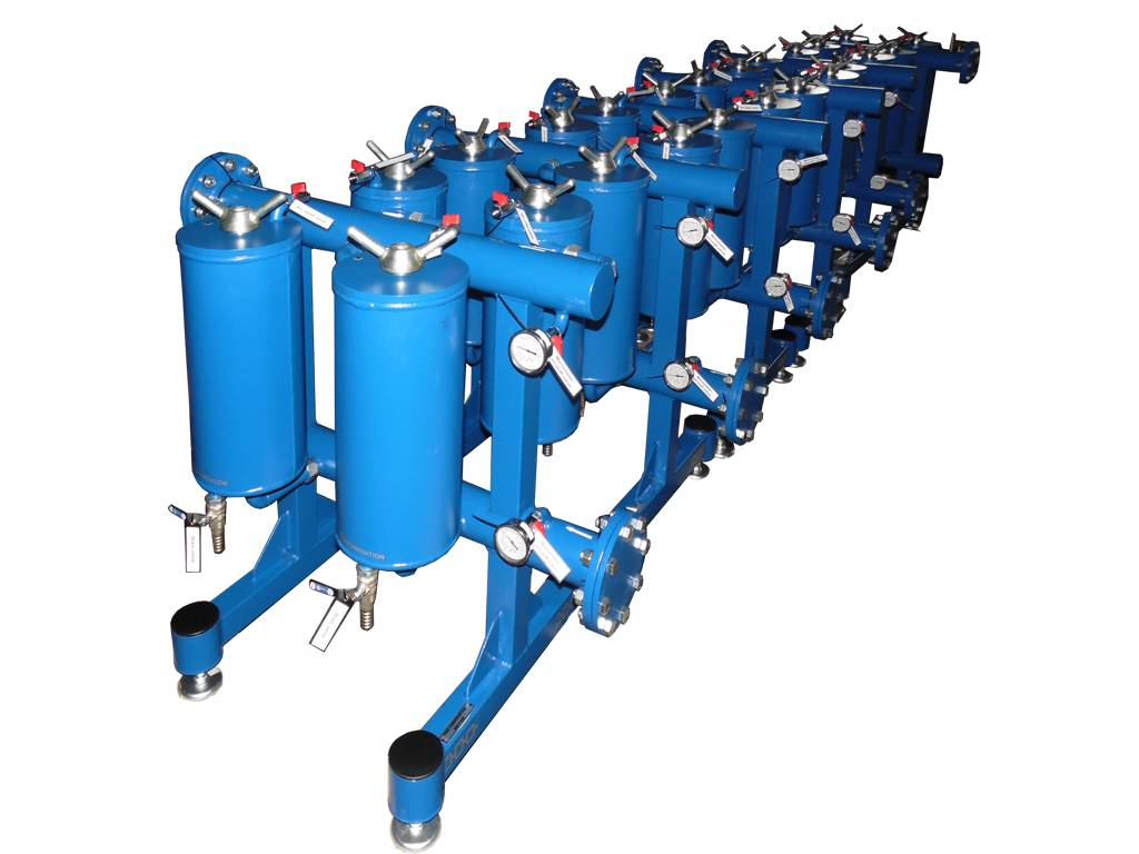 Transformer oil filtration unit BF-10 (capacity 10 000 LPH)