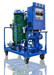 Transformer oil coalescer filtration systems CMM F (capacity 600   4000 LPH)