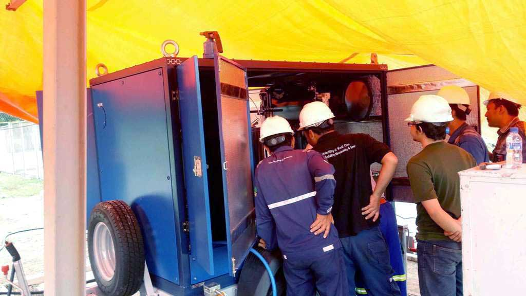 GlobeCore equipment started its operation in Indonesia